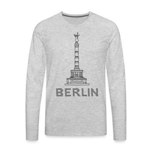Berlin Victory Column - Men's Premium Long Sleeve T-Shirt