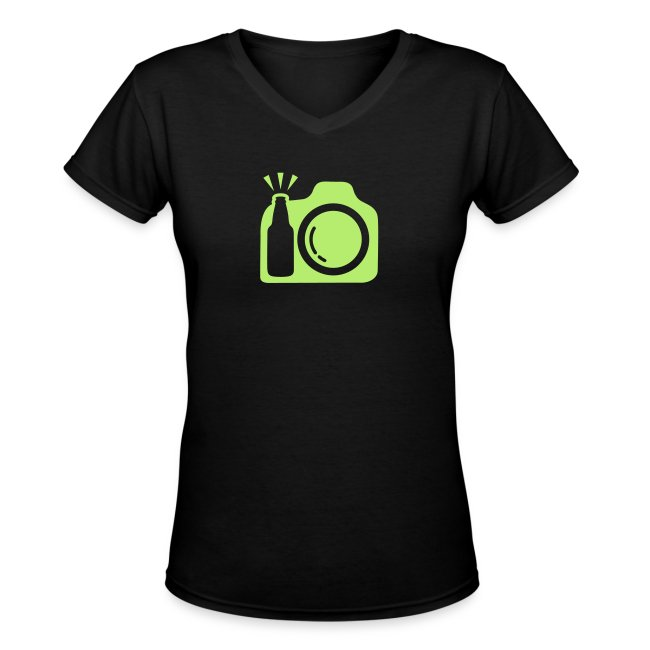 Black T-Shirt Green Logo