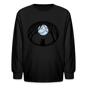 Fat Cat Shirts Kid's Cat T-shirt - Kids' Long Sleeve T-Shirt