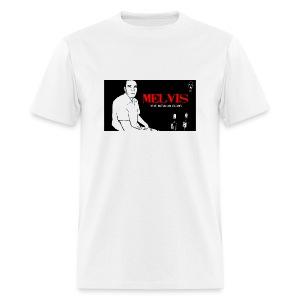 Melvis the Mexican Elvis - Men's T-Shirt