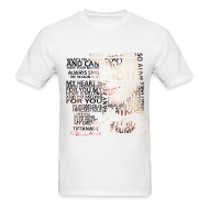 T-Shirts ~ Men's T-Shirt ~ Tiffany Typography