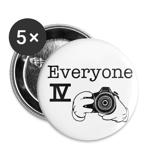Everyone IV Photography - Small Buttons