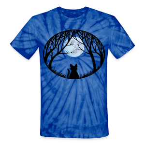 Fat Cat Shirts Unisex Cat Lover T-shirt Tie-dye  - Unisex Tie Dye T-Shirt