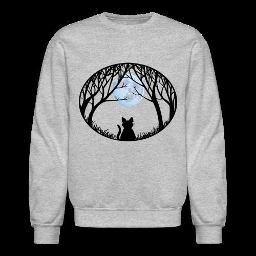 Fat Cat Sweatshirt Cat Art Shirts - Crewneck Sweatshirt