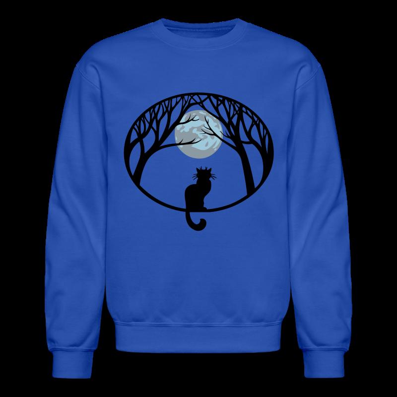 Cat Lover Sweatshirt Cat Art Shirts - Crewneck Sweatshirt