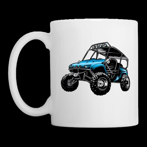 UTV side-x-side, blue - Coffee/Tea Mug