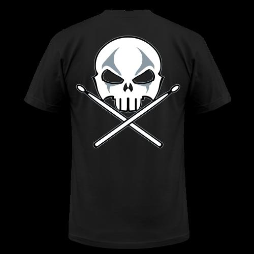 Rock and Roll Drummer Shirt Death Metal Drummer - Men's  Jersey T-Shirt