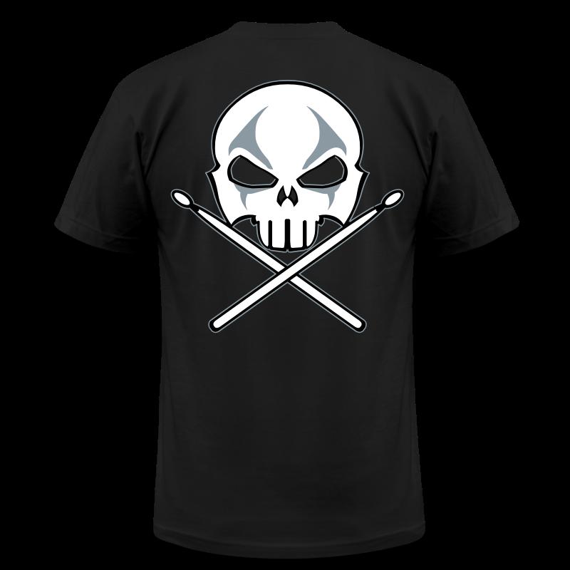Rock and Roll Drummer Shirt Death Metal Drummer - Men's Fine Jersey T-Shirt
