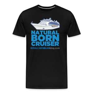 Men's Natural Born Cruiser - Men's Premium T-Shirt