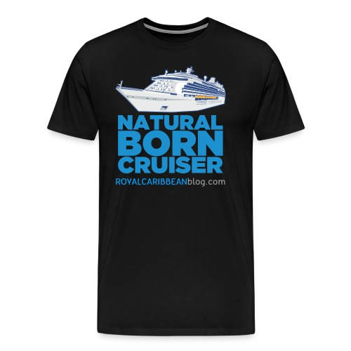 Men's Natural Born Cruiser - Men's Premium T-Shirt