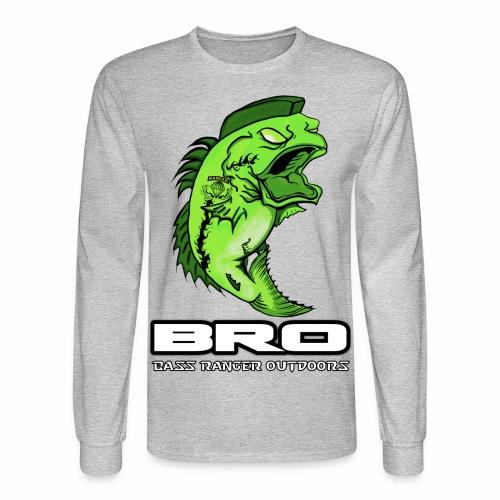 Long Sleeve Front Design - Men's Long Sleeve T-Shirt