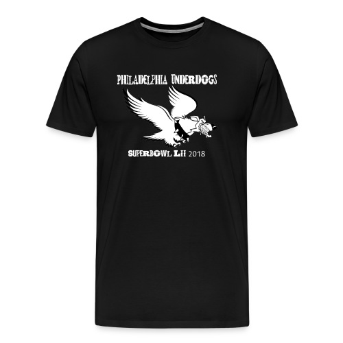 Philadelphia Underdogs T Black - Men's Premium T-Shirt