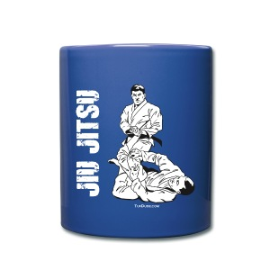 Jiu Jitsu Leg Lock blue mug - Full Color Mug