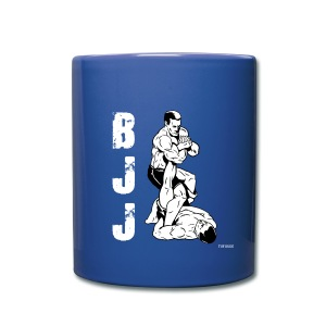 BJJ leg lock 2 blue mug - Full Color Mug