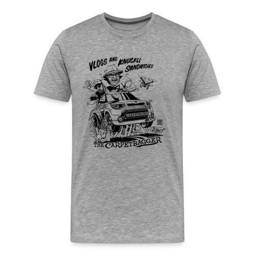 Vlogs and Knuckle Sandwiches - Men's - Men's Premium T-Shirt