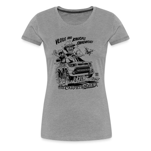 Vlogs and Knuckle Sandwiches - Men's - Women's Premium T-Shirt