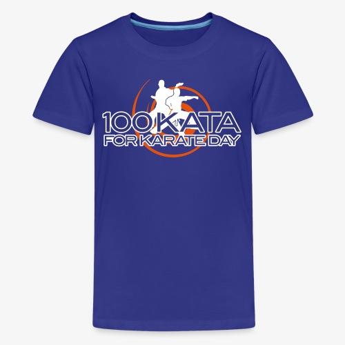 100 Karate Kata Kids tee 1 - Kids' Premium T-Shirt