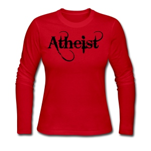 Atheist long-sleeve ladies tee - Women's Long Sleeve Jersey T-Shirt