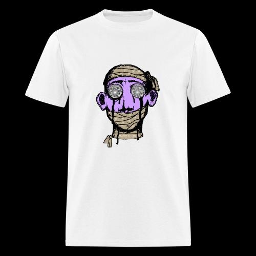 Men's T-Shirt - They feeding you lies to your eye covering your third eye . You have been mummified by AMERIKKKAA..  MUMMIFEYED  Logo