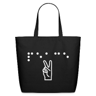 Bags & backpacks ~ Eco-Friendly Cotton Tote ~ Peace Tote