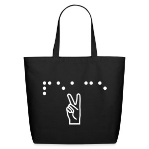 Peace Tote - Eco-Friendly Cotton Tote