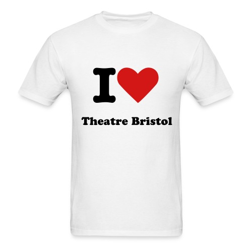 Adult's I Heart Theatre Bristol Shirts - Men's T-Shirt