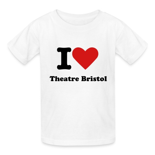 Child's I Heart Theatre Bristol Shirts - Kids' T-Shirt