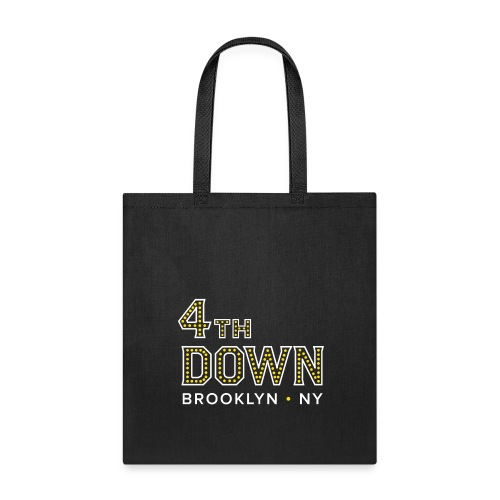 4th Down Sports Bar Tote - Tote Bag