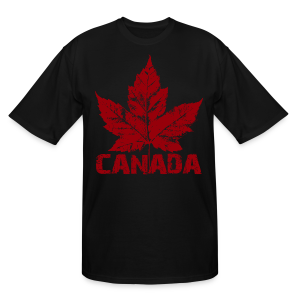 Cool Canada Souvenir T-shirt Men's Tall Canada T-shirts - Men's Tall T-Shirt