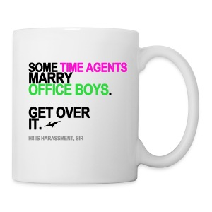Some Time Agents Marry Office Boys Mug - Coffee/Tea Mug