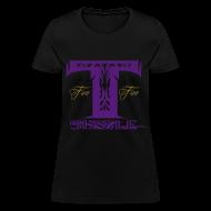 T-Shirts ~ Women's T-Shirt ~ WOMENS T SIZZLE LOGO T BLK/PURPLE