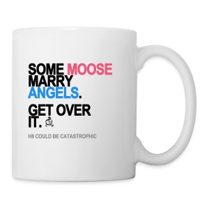 Some Moose Marry Angels Mug - Coffee/Tea Mug