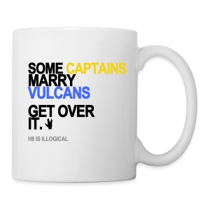 Some Captains Marry Vulcans Mug - Coffee/Tea Mug