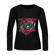 Long Sleeve Shirts ~ Women's Long Sleeve Jersey T-Shirt ~ Race for Relief Long Sleeve Woman's Tee