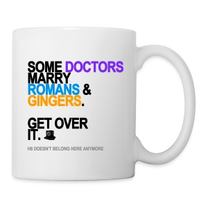 Some Doctors Marry Romans & Gingers Mug - Coffee/Tea Mug