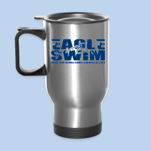 Eagle Swim Coffee Mug - Travel Mug