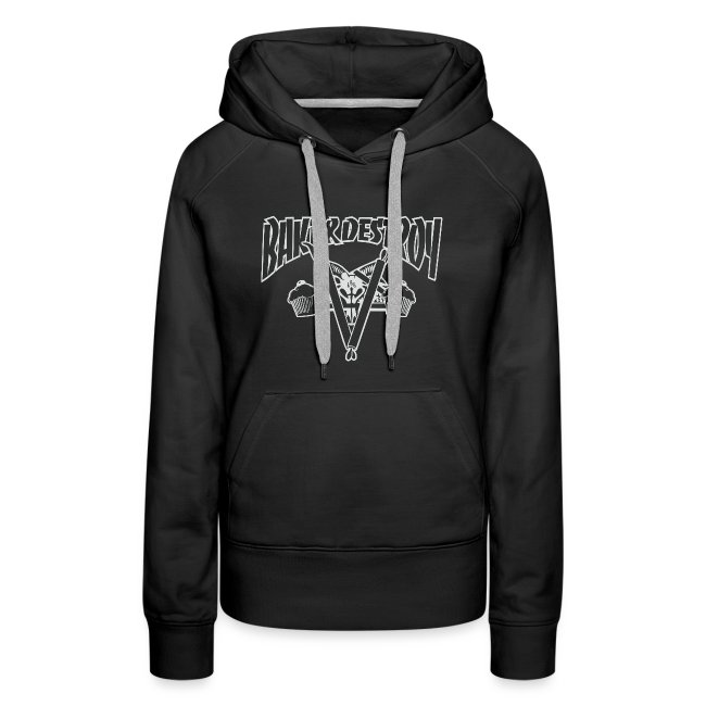 Goat and Destroy Slim Fit Hoodie