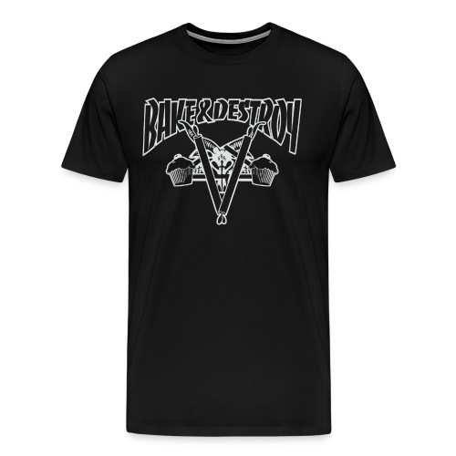 Goat and Destroy Unisex T-shirt - Men's Premium T-Shirt