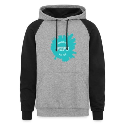 Kansas City hoodie - Colorblock Hoodie