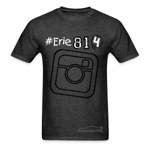 Erie 814 Insta1 - Men's T-Shirt