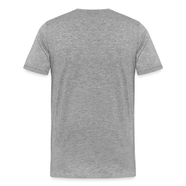 neo liberalism sucks mens gray t shirt with red lettering