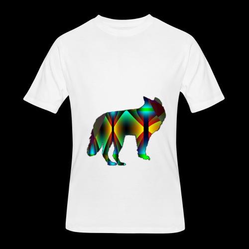 The wolf - Men's 50/50 T-Shirt