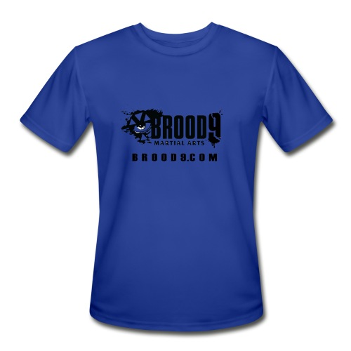 Brood 9 Workout Shirt - Basic - Men's Moisture Wicking Performance T-Shirt