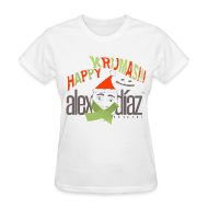 Women's T-Shirts ~ Women's T-Shirt ~ WOMAN KRIJMAS EDITION ALEX DIAZ