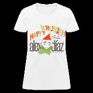 Women's T-Shirts ~ Women's T-Shirt ~ WOMAN KRIJMAS EDITION ALEX DIAZ