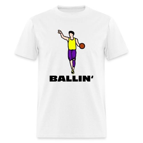 Ballin' - Men's T-Shirt