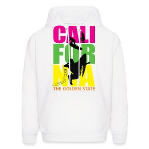 California The Golden State - Men's Hoodie
