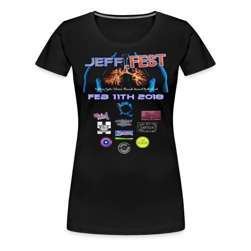Womens T Shirt Logo on Front - Women's Premium T-Shirt