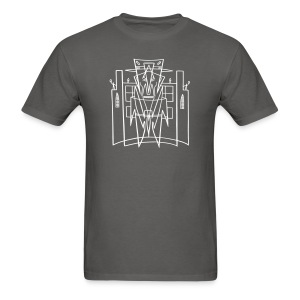 Hirohata Merc This is the City front only (for DARK shirts) - Men's T-Shirt