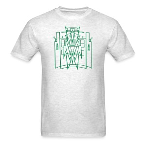 Hirohata Merc This is the City front only (for LIGHT shirts) - Men's T-Shirt